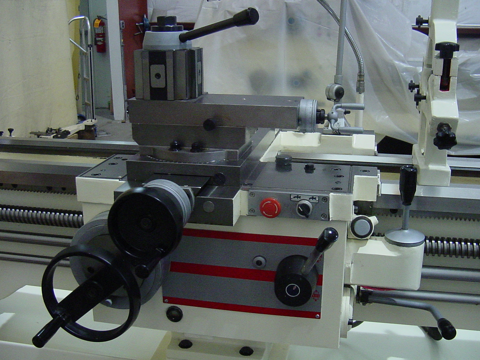 "Manual Lathe D-30"" Tool Post and Carriage"