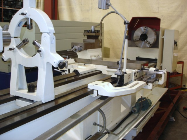 Manual Lathe H Series Lathe Steady Rest