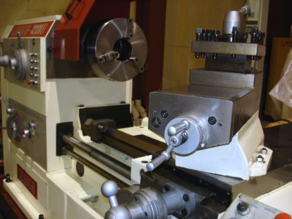 Manual Lathe H Series Power Feed to the Compound